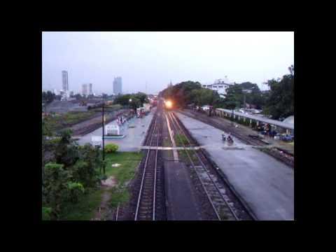 [SRT] State Railway of Thailand Rapid Train No.173 @t Bangsue Junction Bangkok Thailand