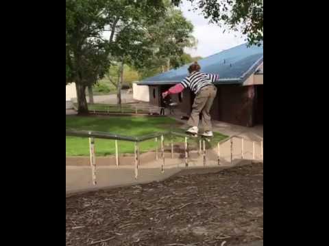 50-50 by @tysonpeterson_ ⚡🎥: @kwalks | Shralpin Skateboarding