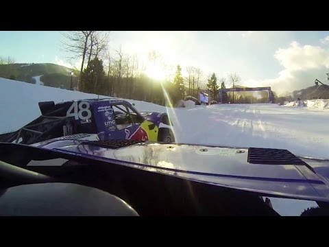 Pro4 Truck Snow Racing GoPro POV - Red Bull Frozen Rush