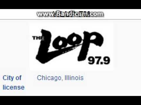 WLUP-FM 97.9 The Loop Chicago, IL TOTH ID at 9:00 p.m. 8/22/2014