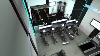 Life Fitness Studio Gym 62m²  - MF