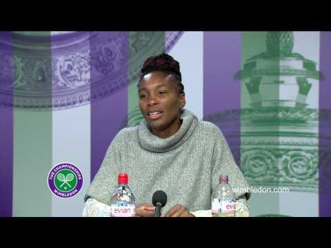 Venus Williams third round press conference