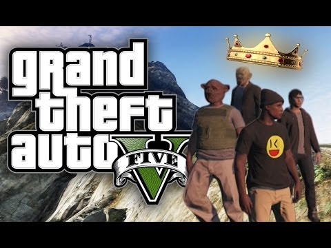 GTA 5 Online - KING OF THE HILL ON MOUNT CHILIAD! (GTA V Online - Funny Gameplay Moments!)