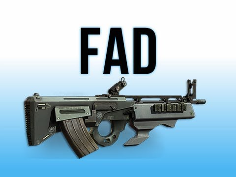 MW3 In Depth - FAD Assault Rifle