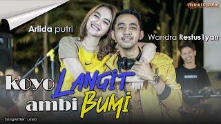 Download Arlida Putri - KOYO LANGIT AMBI BUMI feat Wandra | MUSIC ONE Mp3/Mp4