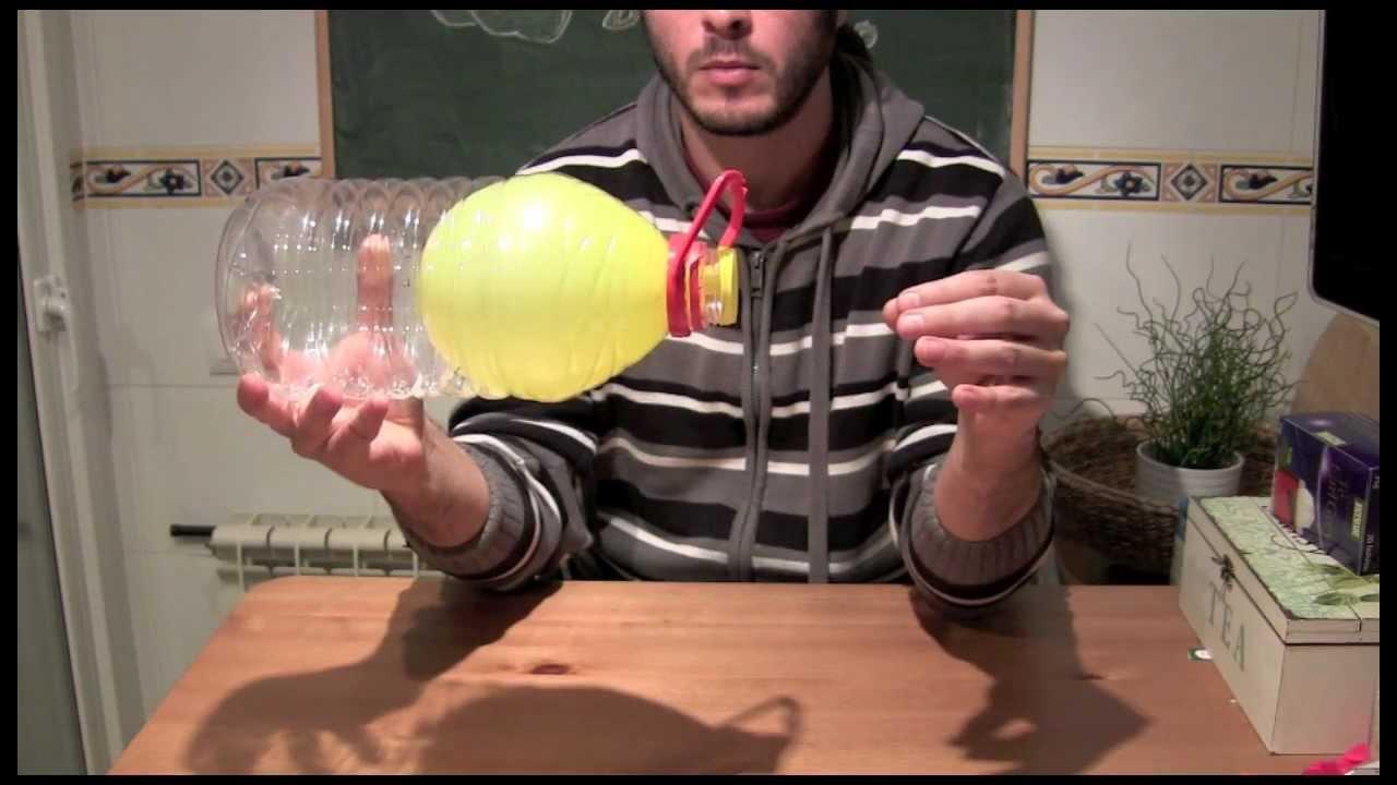 Experimentos caseros - Globo y botella ( Con explicación ) - YouTube