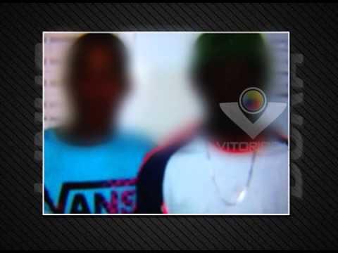 PM apreende três menores suspeitos de tráfico de drogas no Tibery