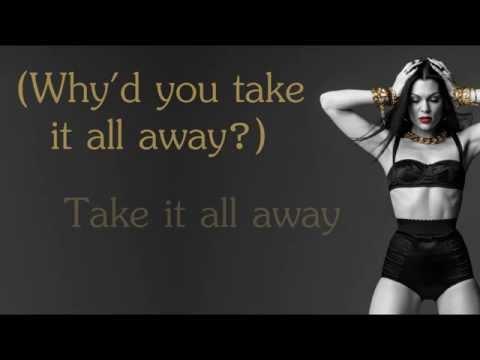 Jessie J - Said too much lyrics video