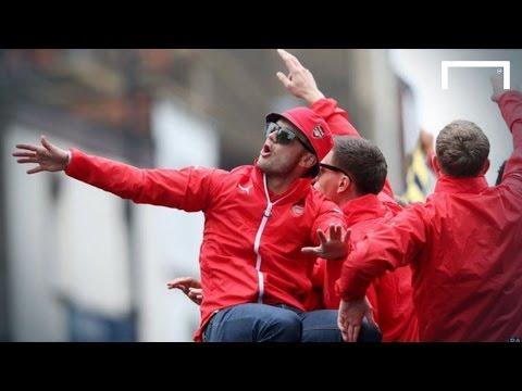 Jack Wilshere leads anti-Tottenham chants