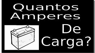Como medir a Amperagem do Carregador da Bateria com Multimetro.