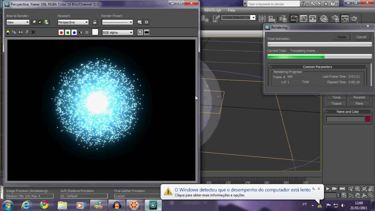 3d studio max rasengan tutorial youtube for Tutorial 3d max