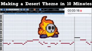 Attempting to Make a Desert Level Theme in 10 Minutes || Shady Cicada