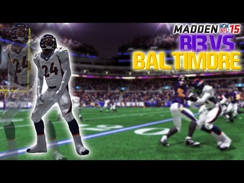Madden 15 Player Franchise FACECAM! - BUSTER BAKES BALTIMORE - Funny Madden Gameplay