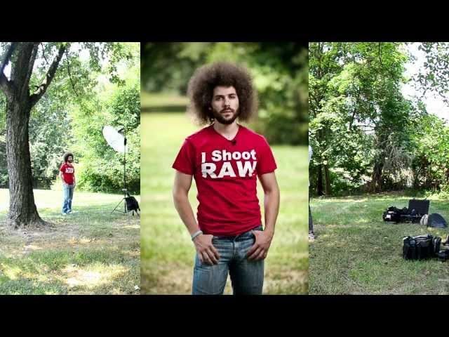 5 Min Portrait - Digital Photography Off Camera Flash Tutorial