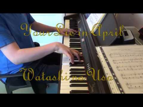 Watashi No Uso From Your Lie In April - Theishter Piano Cover #58