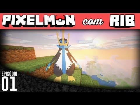 Minecraft Pixelmon - Episódio 01 - Pinguim. Pingui. Pingu.