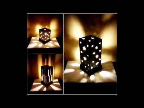 Ночники и светильники своими руками