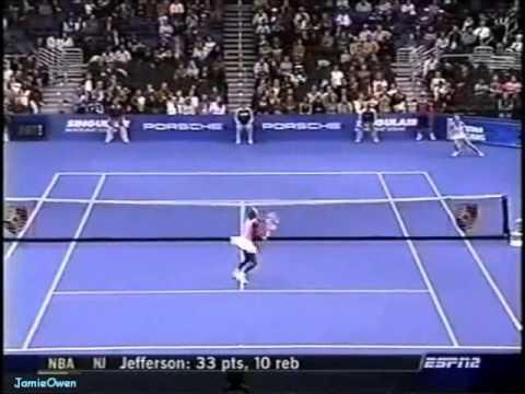 Serena Williams vs Anastasia Myskina 2004 YEC Highlights
