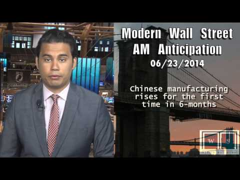 AM Anticipation: Stocks dip, Chinese data disappoints, Iraq in focus