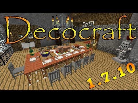 Como baixar e instalar mods no Minecraft: Decocraft - 1.7.10