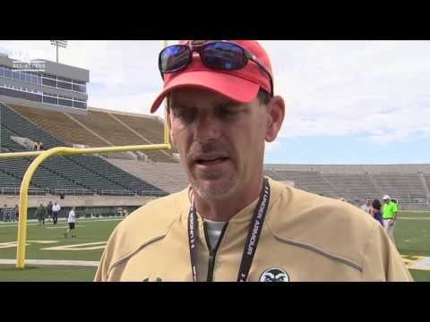 Colorado State Football   Coach Bobo on First Spring Scrimmage