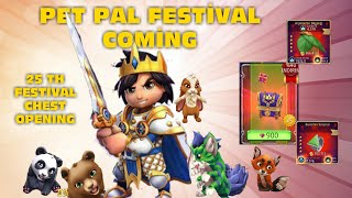 ROYAL REVOLT 2- PET PAL FESTİVAL 25TH FESTİVAL CHEST OPENED!!! WHAT'S OUTPUT COMPLETELY NEW !!!!