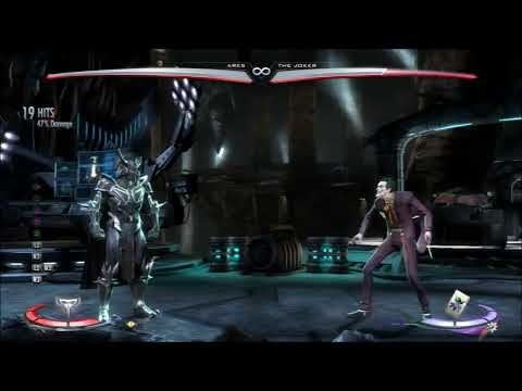 Ares Combo Tutorial 47%  Injustice: Gods Among Us