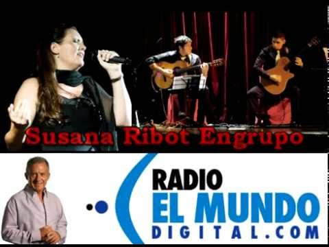 Susana Ribot Engrupo en Radio el mundo