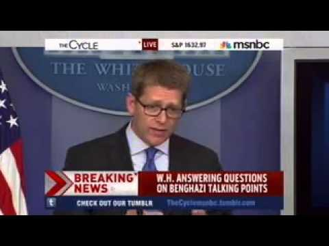 Jay Carney Spends 7 Minutes Ducking Questions On The Benghazi Talking Points Process