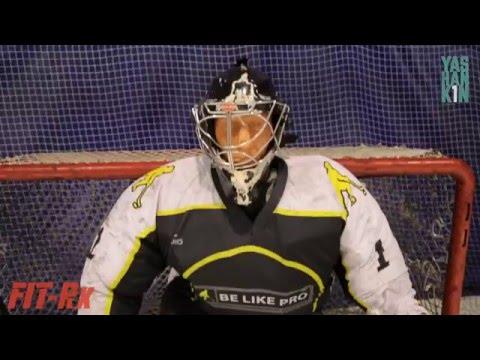 Яшанькин vs  Хоккей - тренировка в центре  'BE LIKE PRO'