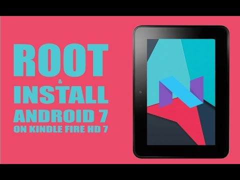 COMPLETE GUIDE To Installing Android 7 To Kindle | Tutorial | Kindle Fire HD 7 | RC Films
