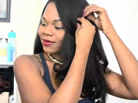 FULL HEAD SEW IN/ WIG TUTORIAL - LONG BOHYME BRAZILIAN HAIR