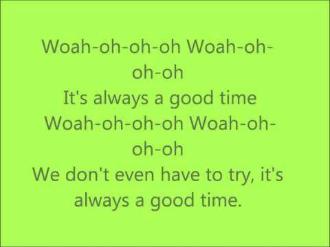 Good Time ; Owl City - Lyrics video
