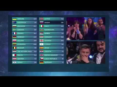 Eurovision 2016 Winner moment!