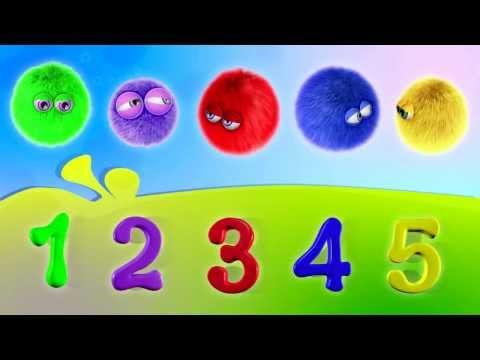 Учим Цифры - Учимся Считать - 3D развивающее видео от ЗимЗум