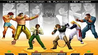 KOF 2002 UM - Nikolai-保力達 VS Lihong yang