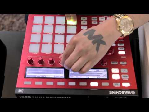 Marc 'MK' Kinchen on Maschine and Traktor