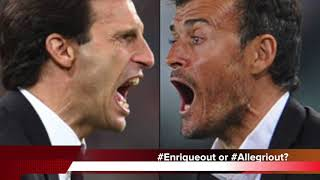 Football News - Allegri and Enrique for Arsenal, Ribery, Hazard to Man United