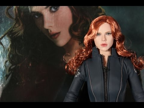 Black Widow Iron Man 2 Hot Toys figure review