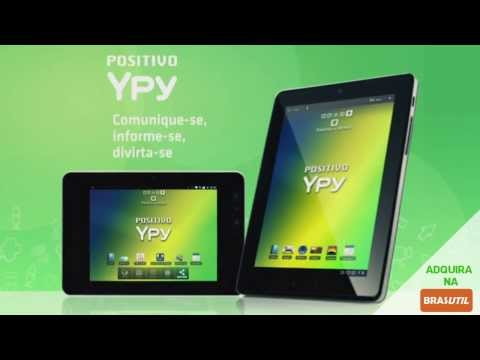 Tablet Positivo YPY 7 e YPY 10 - Tablet Positivo Multitoque