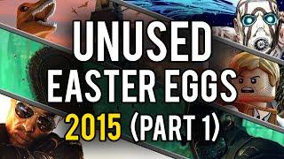 Best Unused Video Game Easter Eggs of 2015 (Part 1)
