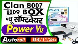4/11/2018 Asiasat7, Intelsat 20 autoroll Software Sony Ok  Clan 8007/8009 New Software power vu