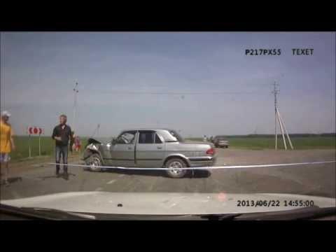 ДТП на сыропятском тракте у п. Кормиловка Омская область 22 апреля 2013 года
