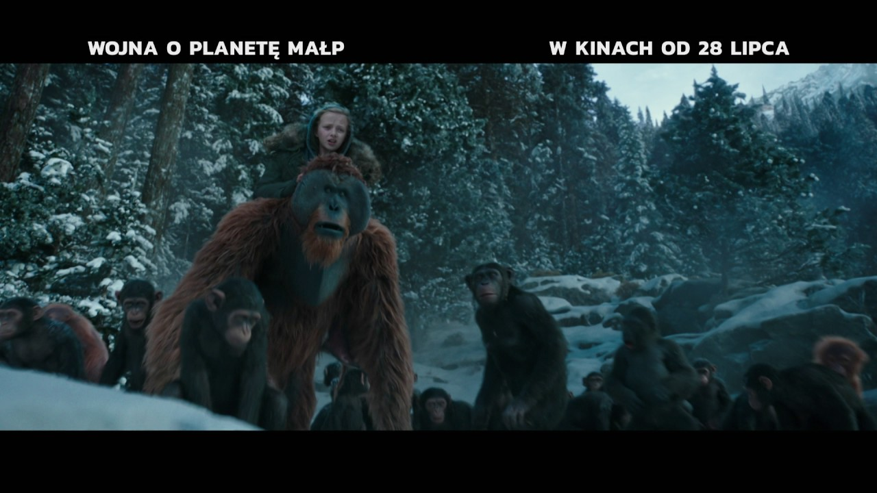 Wojna o planetę małp – spot 1