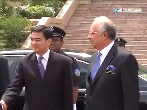 Official visit by the Prime Minister of Thailand - 08.06.2009