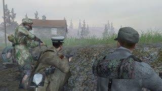 Call of Duty 2 - German Campaign Full Walkthrough