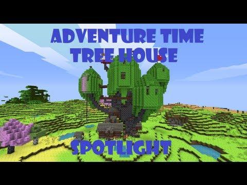 Minecraft Adventure Time Tree House Spotlight