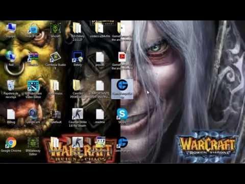 como jugar warcraft 3 y mas  juegos online