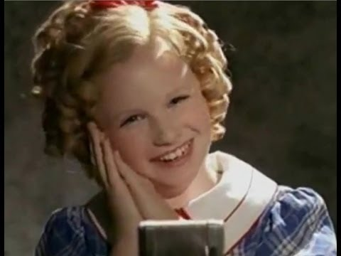 Best of Shirley Temple singing, most-famous Hollywood child Actress star   died 2014.