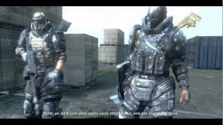 Army of Two - Aircraft Carrier - Cutscenes HD